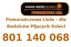 Pomoarańczowa Linia - nr telefonu Rodziców Pijących Dzieci